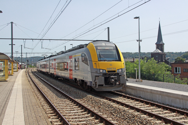 Foto van NMBS MS08 Desiro ML 8574 Electrisch treinstel door best trains