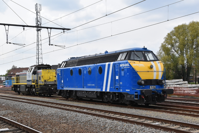 Foto van Infrabel HLR 77 7798 Diesel locomotief door Trains-of-Europe