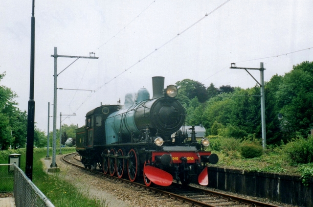 Foto van ZLSM Type E2 1040 Stoomlocomotief door LeoScribens