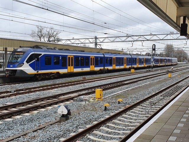 Foto van NS SNG CAF Civity 2333 Electrisch treinstel door wyke2207