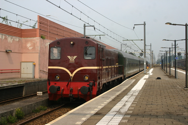 Foto van NS 2200 2225 Diesel locomotief door best trains