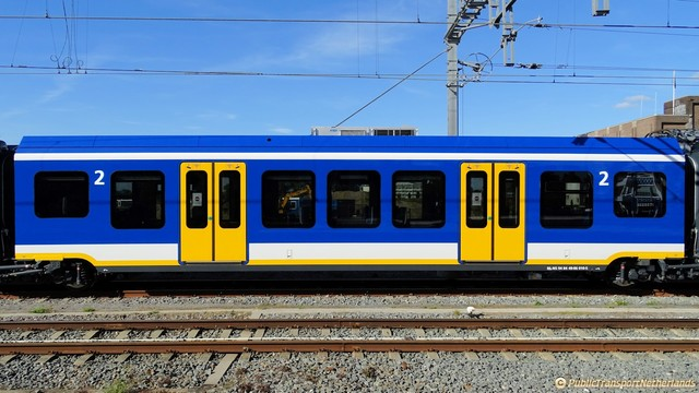Foto van NS SNG CAF Civity 2710 Electrisch treinstel door PublicTransportNetherlands