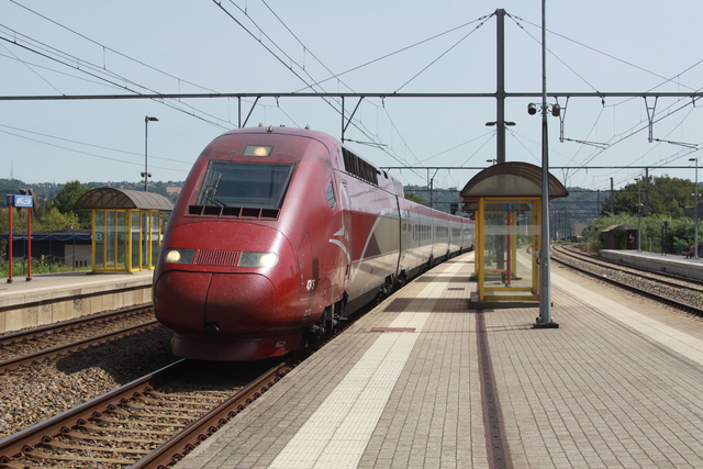 Foto van Thalys TGV 4345 Electrisch treinstel door best trains