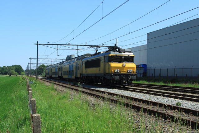 Foto van NS Alsthom 1700 1743 Electrische locomotief door best trains