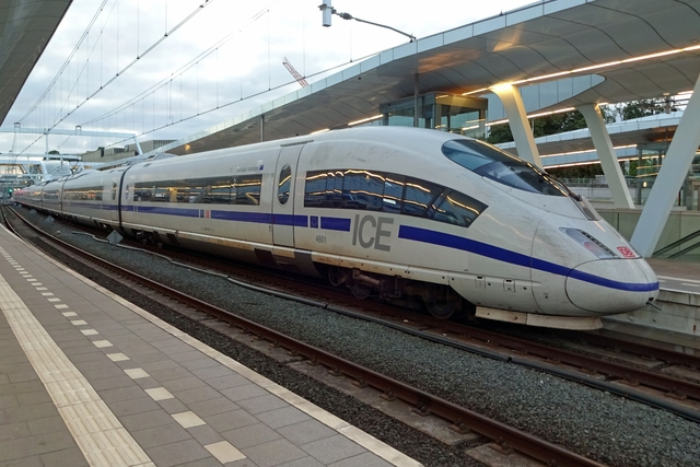 Foto van NS ICE-3M 4601 Electrisch hogesnelheidstreinstel door LeoScribens