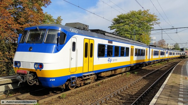 Foto van NS SGM 2124 Electrisch treinstel door PublicTransportNetherlands