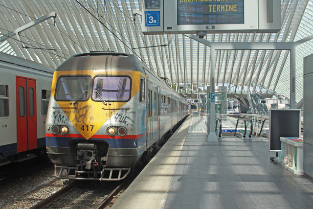 Foto van NMBS MS80 417 Electrisch treinstel door best trains