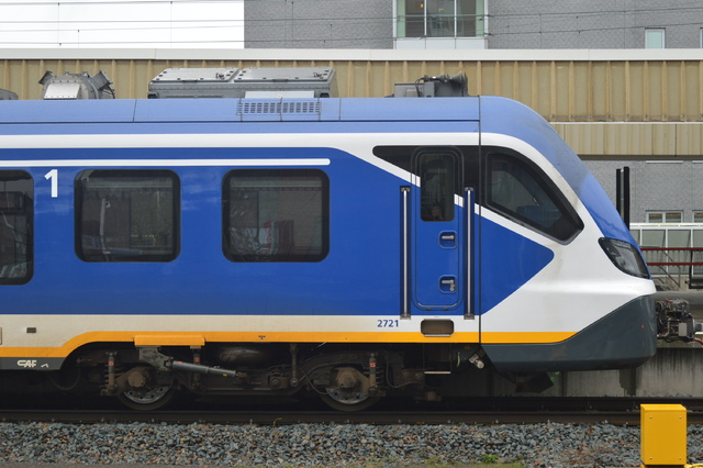 Foto van NS SNG CAF Civity 2721 Electrisch treinstel door wyke2207