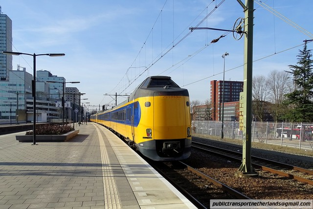 Foto van NS ICM 4019 Electrisch treinstel door PublicTransportNetherlands