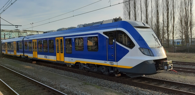 Foto van NS SNG CAF Civity 2708 Electrisch treinstel door Publicer-Transport
