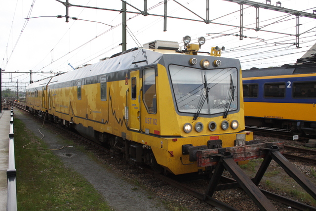 Foto van ESC Ultrasoontrein 2 Diesel locomotief door best trains
