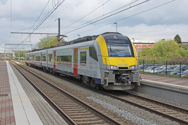 Foto van NMBS MS08 Desiro ML 8200 Electrisch treinstel door best trains