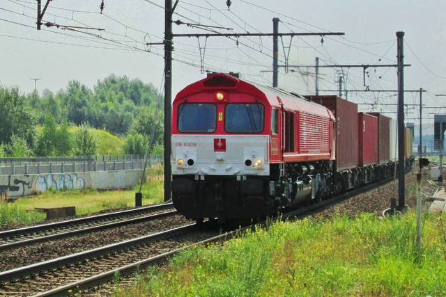 Foto van Crossrail EMD Class 66 6308 Diesel locomotief door LeoScribens
