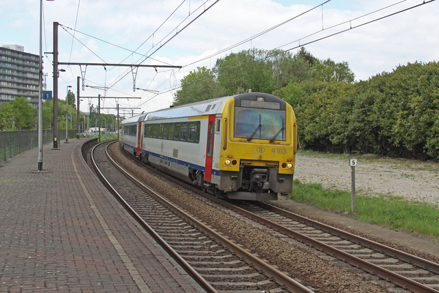 Foto van NMBS MW41 4163 Diesel treinstel door best trains