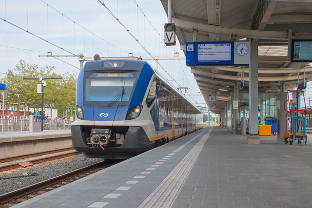 Foto van NS SNG CAF Civity 2721 Electrisch treinstel door best trains