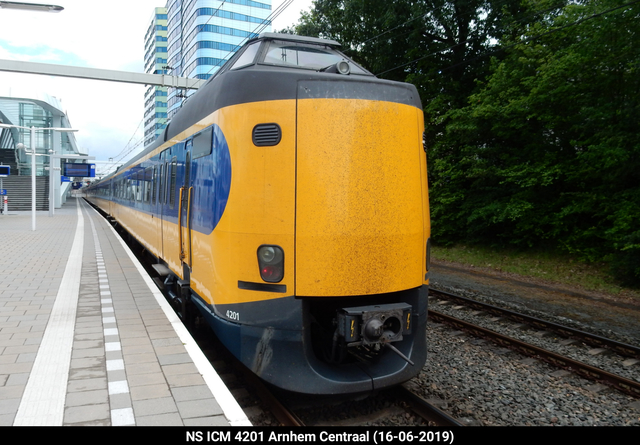 Foto van NS ICM 4201 Electrisch treinstel door PublicTransportNetherlands