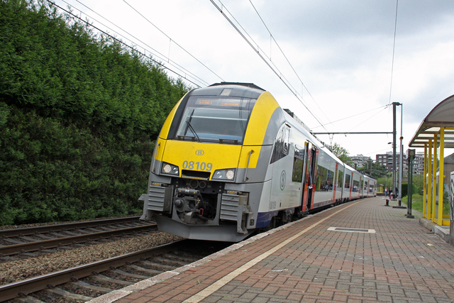 Foto van NMBS MS08 Desiro ML 8109 Electrisch treinstel door best trains