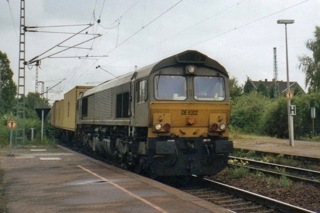Foto van Crossrail EMD Class 66 6302 Diesel locomotief door LeoScribens