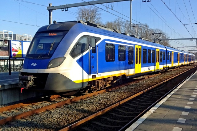 Foto van NS SNG CAF Civity 2722 Electrisch treinstel door LeoScribens