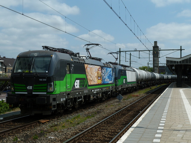 Foto van LTE Siemens Vectron 193232 Electrische locomotief door World Of Trains