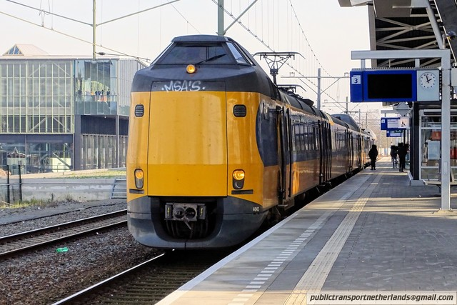 Foto van NS ICM 4042 Electrisch treinstel door PublicTransportNetherlands