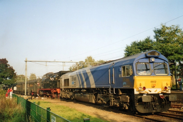 Foto van Captrain EMD Class 66 6602 Diesel locomotief door LeoScribens