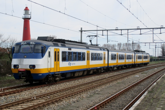 Foto van NS SGM 2964 Electrisch treinstel door LeoScribens