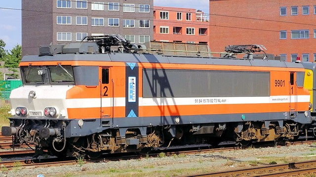 Foto van Locon Alsthom 1600/1800 9901 Electrische locomotief door PublicTransportNetherlands