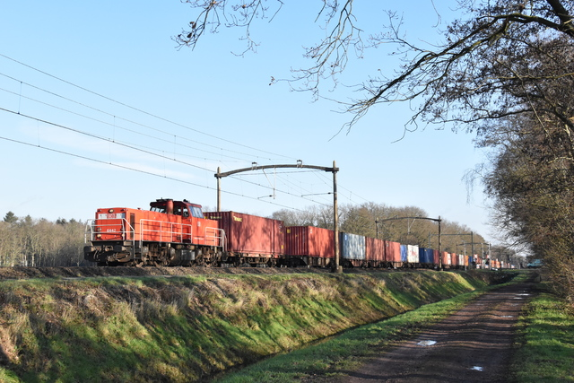 Foto van DBC MaK 6400 6442 Diesel locomotief door Trains-of-Europe