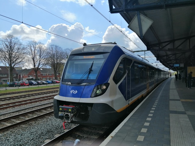 Foto van NS SNG CAF Civity 2723 Electrisch treinstel door Roger Hanenburg