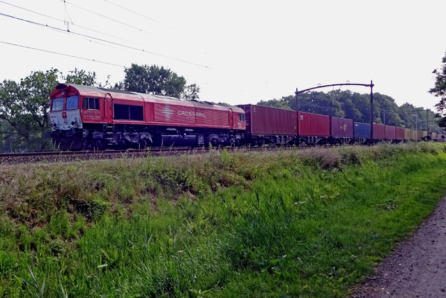 Foto van Crossrail EMD Class 66 12 Diesel locomotief door LeoScribens