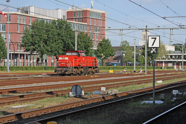 Foto van DBC MaK 6400 6412 Diesel locomotief door best trains