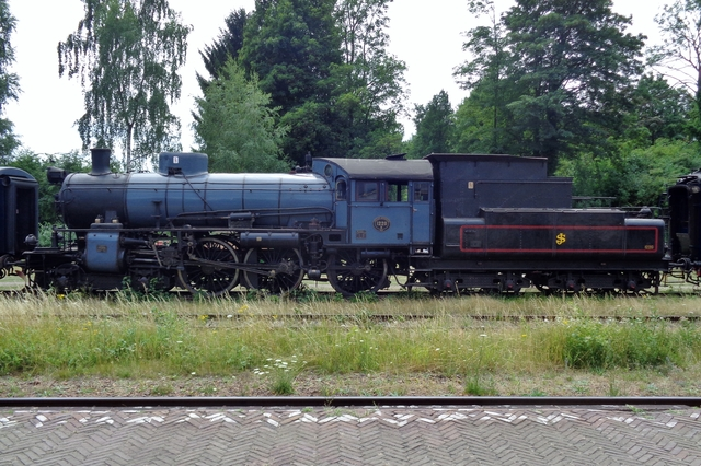 Foto van ZLSM Type B 1220 Stoomlocomotief door LeoScribens