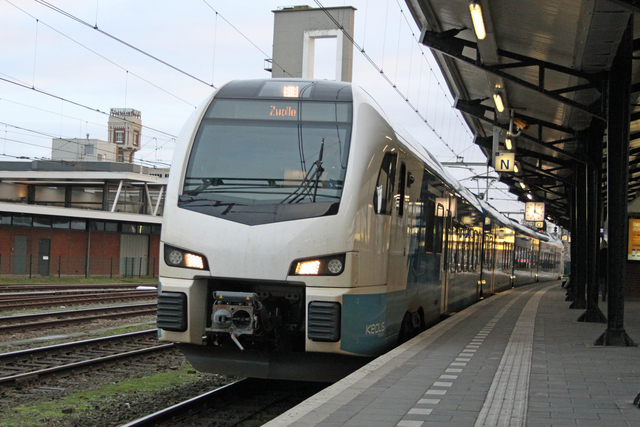 Foto van SYNTUS Stadler Flirt3 7401 Electrisch treinstel door best trains