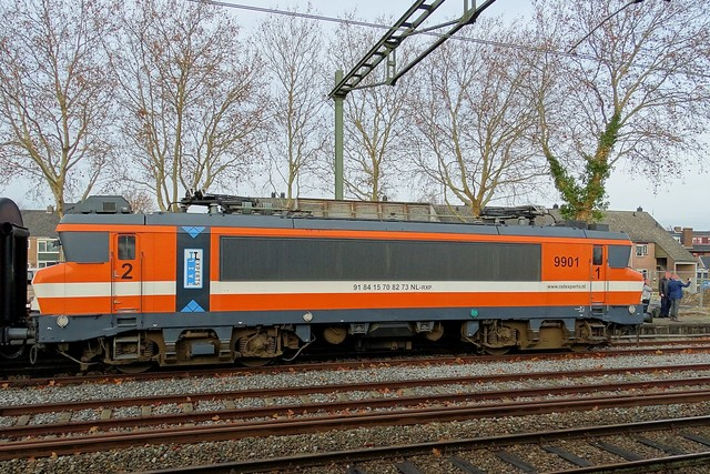 Foto van Railexperts Alsthom 1600/1800 9901 Electrische locomotief door PublicTransportNetherlands