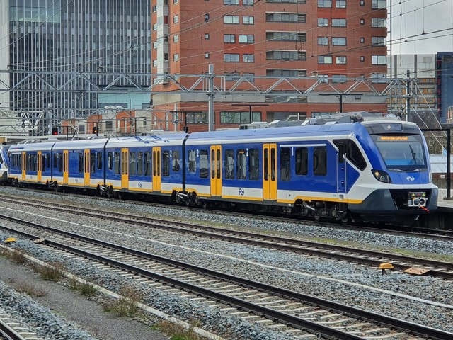 Foto van NS SNG CAF Civity 2746 Electrisch treinstel door wyke2207