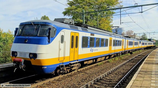 Foto van NS SGM 2138 Electrisch treinstel door PublicTransportNetherlands