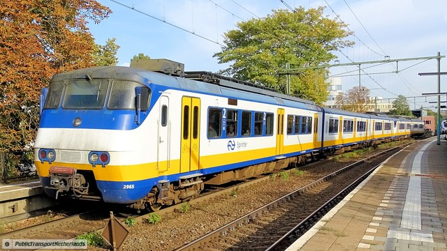 Foto van NS SGM 2965 Electrisch treinstel door PublicTransportNetherlands