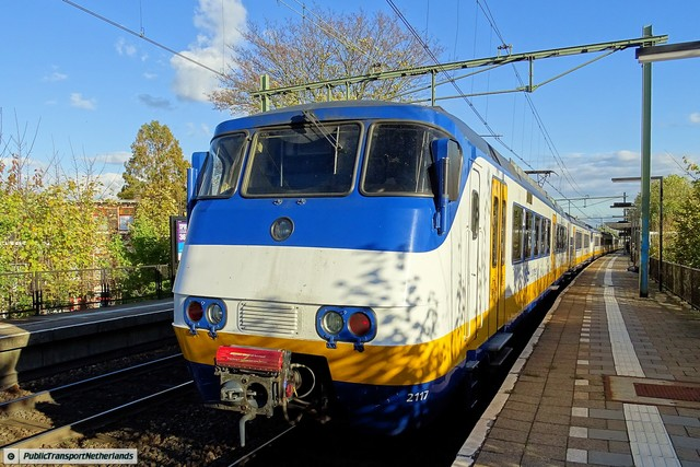 Foto van NS SGM 2117 Electrisch treinstel door PublicTransportNetherlands