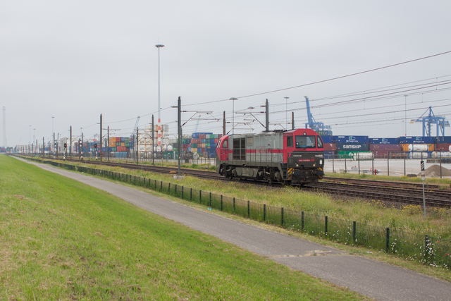 Foto van IRP Vossloh G 2000 BB 2101 Diesel locomotief door best trains
