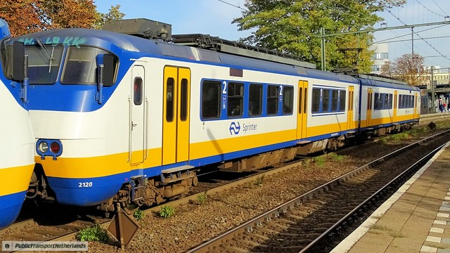 Foto van NS SGM 2120 Electrisch treinstel door PublicTransportNetherlands