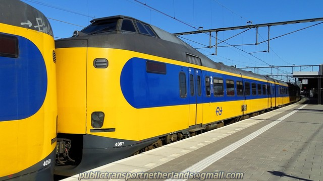 Foto van NS ICM 4087 Electrisch treinstel door PublicTransportNetherlands