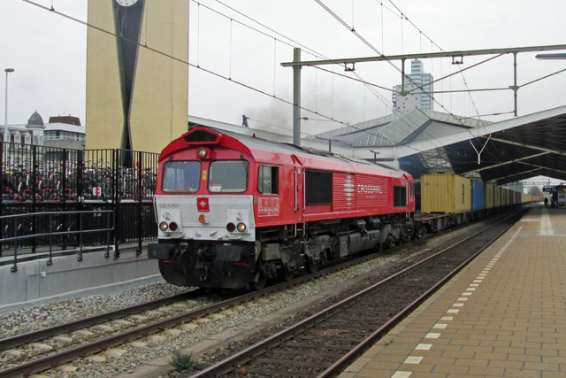 Foto van Crossrail EMD Class 66 6301 Diesel locomotief door LeoScribens