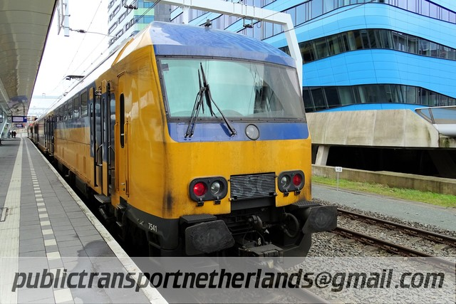 Foto van NS DDZ 7541 Treinstam door PublicTransportNetherlands