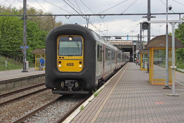 Foto van NMBS MS96 488 Electrisch treinstel door best trains
