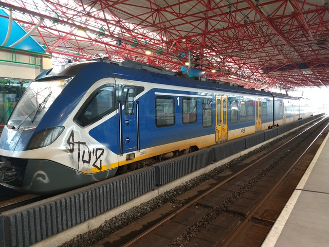 Foto van NS SNG CAF Civity 2301 Electrisch treinstel door Rupsje
