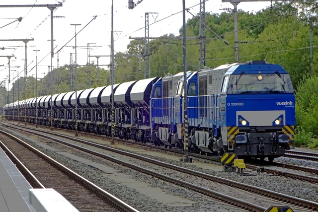 Foto van BE Vossloh G 2000 BB 22 Diesel locomotief door LeoScribens