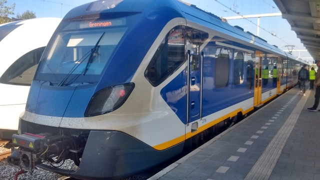 Foto van NS SNG CAF Civity 2716 Electrisch treinstel door Rupsje