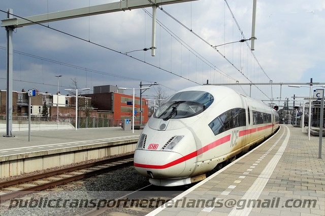 Foto van NS ICE-3M 4684 Electrisch treinstel door PublicTransportNetherlands