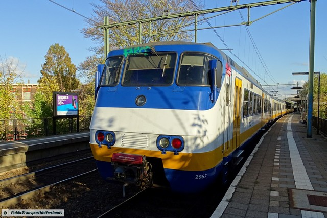 Foto van NS SGM 2967 Electrisch treinstel door PublicTransportNetherlands